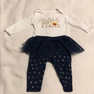 Just One You by Carters thanksgiving set 6 months